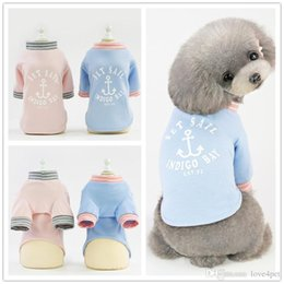 T Tshirts Australia - F138 pet dog summer cool Tshirts pet cotton shirt puppy cotton clothes cool thin summer T-shirt small pets summer clothes