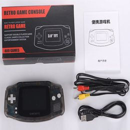 Discount nes games - RS-5 Portable Mini Handheld Game Console Can Store 400 Games 8-Bit 3.0 Inch Color LCD Game Player