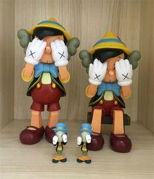 venda por atacado HOT 26CM 0,7 kg Originalfake KAWS Companion Dois tipos de estilo para Box Original KAWS Action Figure presente decorações modelo brinquedos