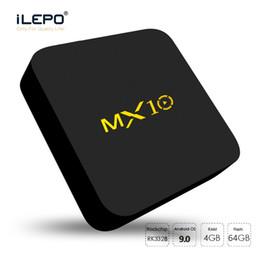 $enCountryForm.capitalKeyWord Canada - Android 9.0 TV Box MX10 4GB ram 64GB rom Quad core RK3328 Smart TV Box 4K UHD video streaming Media Player