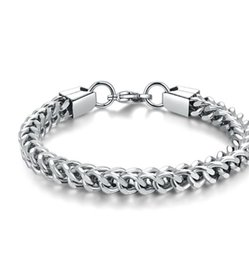 $enCountryForm.capitalKeyWord Australia - Cross-border special offer for sale AliExpress explosion-proof stainless steel men's bracelet 3M 4M 5M 6M positive and negative twist chain