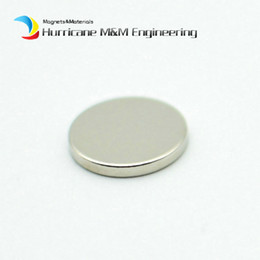 Neodymium Magnet Disc N35 Australia - 200-1000pcs Ndfeb N35 Disc Magnet Diameter 12x1.5 Mm Jewelry Strong Neodymium Permanent Magnets Nicuni Plated Axially Magnetized