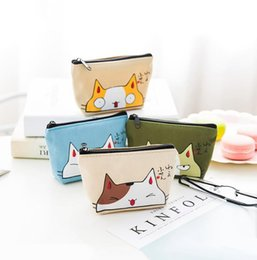 prices purses NZ - Cute children cartoon purse cute cat women girl small cartoon animal coin zipper bag wholesale price