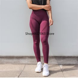 Seamless Yoga Pants NZ - Women's Tights Sportswear Woman Gym Leggins Sport Women Fitness Sports Wear For Energy Seamless Leggings High Waist Yoga Pants