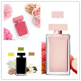 Fragrance Women Australia - Feminine Fragrance 3 Kinds of Rodriguez For Her Women Perfume 3.3oz 100ml EDP Spray Long-lasting Floral Scent Musk Woody Free Shipping