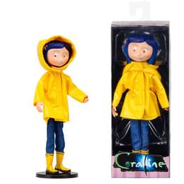 $enCountryForm.capitalKeyWord NZ - NECA Coraline & the Secret Door Coraline y la puerta secreta raincoat Action figure toys doll for gift