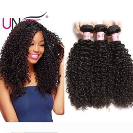 nice human hair weave NZ - UNice Hair Virgin Unprocessed Peruvian Curly Wave Bundles 100% Human Hair Extensions 8-26 inch Remy Wholesale Cheap Nice Curl Hair Weaves