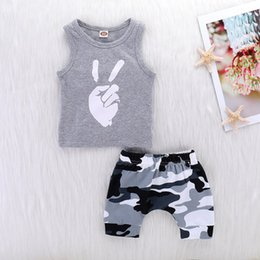 7a8eaccc9 Camouflage toddler pants online shopping - 2019 Toddler Kids Baby Boy  Summer Clothes Sleeveless Vest Tops