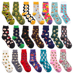 $enCountryForm.capitalKeyWord Australia - Women A Spring Summer Green Colour Cartoon Restore Ancient Ways Wind Korea In Canister Flower Long Socks Tide Skate Shoe Ins 2pcs=1pairs