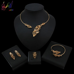 mexican lanterns UK - Yulaili High Quality Jewelry Set With Newfashioned Hollow Lantern Shape Necklace For Women Party Occasion Design
