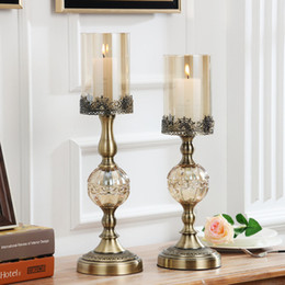 $enCountryForm.capitalKeyWord Australia - Vintage Classical Metal Candelabra Candle Holder Antique Candelabra Wedding Christmas Three Five Armed Candlestick Holder