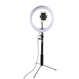 Chinese  LED Selfie Ring Light Studio Photography Photo Fill Ring Light Video Lamp with Tripod for Canon Nikon Sony Camera iphone Samsung Smartphone manufacturers