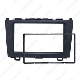 honda crv gps dvd Australia - Car Double Din Audio Fascia for HONDA CRV 2007-2012 Radio CD GPS DVD Stereo Panel Dash Mount Installation Trim Kit #4948