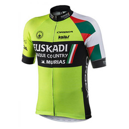 New pro team Euskadi Cycling Jersey men short sleeve Breathable bicycle  racing wear road bike shirts mtb maillot ciclismo Y012416 b8afeeae1