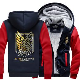 Scouting legion hoodie online shopping - Mens Attack On Titan Printed Scouting Legion Hoodie Coat Sweatshirt Cosplay