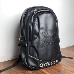 Wholesale Famous Sports Brand Women Men Backpack Casual Student School Bags Teenagers High Quality Bookbag Computer Bag