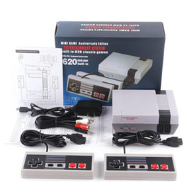 DHL SHIPPING New Arrival Mini TV 620 500 Game Console Video Handheld for with retail boxs