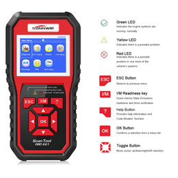 Diagnostic Readers Australia - KONNWEI KW808 Car Diagnostic Tool OBD2 Activate engine analyzer Automotive Code Reader Scanner & New Brake Fluid Liquid Tester