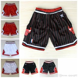Bulls shorts jersey online shopping - 2018 HOT SALE Mitchell New Seasons Authentic CHI Running Basketball Jersey Shorts Chicagos states Men and youth Bulls Short Jersey