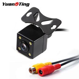 Camera night pal ntsC online shopping - YuanTing IR Night Vision Waterproof Degrees visual guide HD Car Rear View Backup Parking Reverse Camera For Monitor PAL NTSC