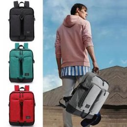 Male canvas bags online shopping - Men Outdoor Canvas Climb backpack Vintage Large Capacity Travel Wash Canvas Backpack Male Casual Rucksack Teenagers School Bags LJJT220