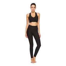 Suits & Sets S72 Women Seamless Bra+pants Leggings Set Fitness Workout Tracksuit Women's Sets