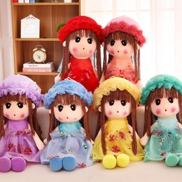 $enCountryForm.capitalKeyWord NZ - Lovely Phil A Doll Flower Fairy Maiden Lint Toys Doll Dressing Princess Girl Heart Embrace Pillow Budding Baby Gift