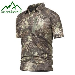 Camping T Shirts Australia - Camouflage Tactics Quick-drying T Shirts for Outdoor Camping Mountaineering Camouflage T Shirts for Men Sports Hiking T-shirts