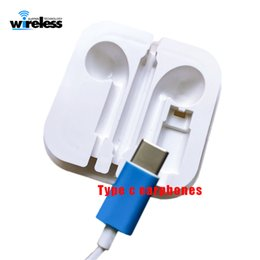 428a9271173 For huawei P20 xiaomi 6 samsung USB Type C Earphones Half In Ear Wired  headphones with Microphone Volume Control
