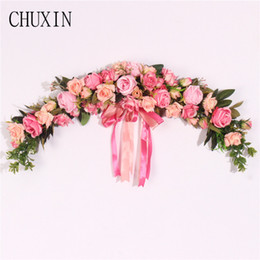 $enCountryForm.capitalKeyWord NZ - Decorations Artificial Dried Flowers Rose Peony Artificial Flowers Garland European Lintel Wall Decorative Flower Door Wreath For Wedding...
