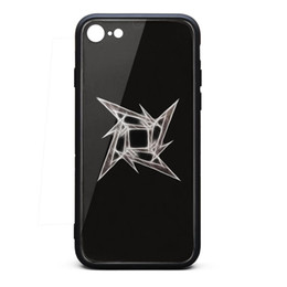 $enCountryForm.capitalKeyWord Australia - IPhone 6 Case,iPhone 6S Case rock band Metallica art 9H Tempered Glass Cover TPU Bumper Shockproof Phone Case