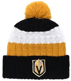 ef7e84f784e5ca HOT Brand Fashion Adult Men Women Vegas Golden Knights Winter Hats Soft  Warm Beanie Caps Crochet Elasticity Knit Casual Warmer Beanies 00