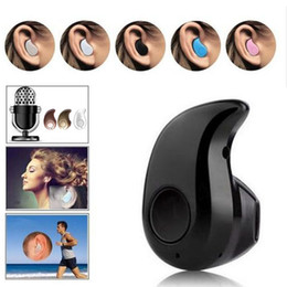 Wholesale Sport Running S530 Mini Stealth Wireless Bluetooth Headphones Stereo Headphones music Headset for iphone xs xs max iphone For Samsung NOTE9