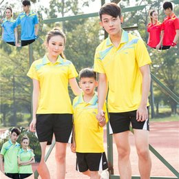 Sportswear T Shirt Badminton Australia - LC6 Li Ning Badminton Suit Sportswear for Men & Women & Kids Short Sleeve T-shirt Leisure Running Basketball casual wear Table tennis LN1679
