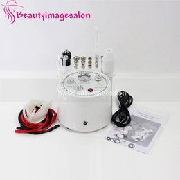 microdermabrasion vacuum spray machine NZ - Wholesale Dermabrasion facial treatment Skin Care Acne Scars Vacuum Spray High Frequency Microdermabrasion Machine Beauty Spa