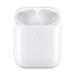 Venta al por mayor de La más nueva generación 2 de carga inalámbrica Bluetooth auriculares auriculares auriculares con ventana emergente Control táctil de auriculares para iphone