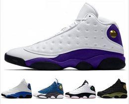 $enCountryForm.capitalKeyWord Australia - 13 he got game Classic 13s mens basketball shoes olive hyper royal DMP HOF black cat play barons Grey Toe sneakers