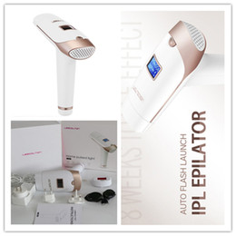 permanent laser hair removal home Australia - 5pcs per lot DHL free Lescolton Laser Hair Removal Machine 300000 Home Pulsed Light Permanent Mini Home Use IPL Hair Removal