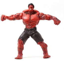$enCountryForm.capitalKeyWord Australia - The Avengers Red Hulk Anime Figures Collectible Moble Hot Toys Birthdays Gifts Doll New Arrvial Hot Sale Free Shipping