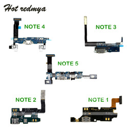 port dock connector Australia - Charging Port Flex Cable For Samsung Galaxy Note 1 2 3 4 5 N7000 N7100 N9005 N910F N920F USB Charger Dock Connector Ribbon