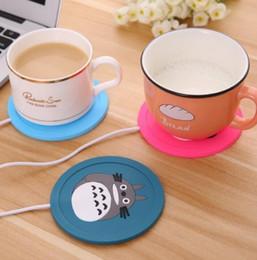 Usb Heating Pads Australia - USB Power Cup Mug Office Tea Coffee pad Warmer Heating Cup Mat Pad Coaster Cup Mat Pad KKA6548