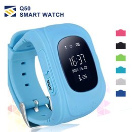 ios apple activity trackers NZ - Q50 Kids Smart Watch smartwatch LBS Location Safe Children Watch Activity Tracker SOS Card for Android Samsung and apple IOS