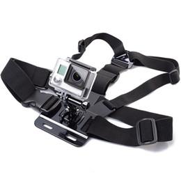 venda por atacado Gopro Acessórios Ajustável Peito Cinto Corpo Tripé Harness Mount Para Gopro Hero