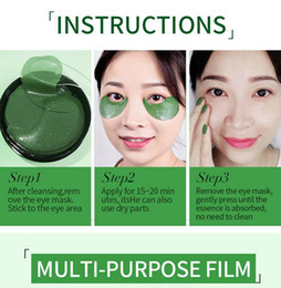 eye patches sleeping Australia - 020 algae Crystal Collagen Eye Mask Eyes-Cream Anti Wrinkle Anit Age Patch 60PCS Sleep Gel Hydroge Patches Under Eyes Bags Pads korea
