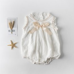 4fdbb59912d Lovely Wholesale Clothing Kids Infant Clothes Australia - Toddler Ins Hot  Sell Bow Lace White Color