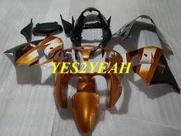 $enCountryForm.capitalKeyWord UK - Custom Fairings Bodywork for KAWASAKI Ninja ZX-9R ZX9R 2000 2001 ZX 9R 00 01 ABS Golden black Fairing body kit+gifts KK16