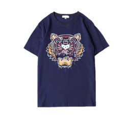 $enCountryForm.capitalKeyWord UK - Summer Designer T Shirts For Men Tiger Head Brand tshirts with letters Printed Crew Neck Luxury Mens Shirt Tops Short Sleeve Tee Clothing a2