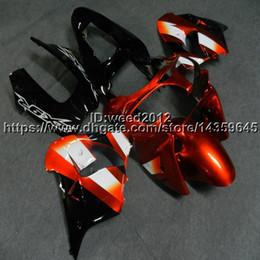 $enCountryForm.capitalKeyWord NZ - screws+Custom orange white ABS motorcycle cowl for Kawasaki Ninja ZX-9R 2002 2003 ZX9R 02-03 Fairings