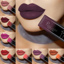 longest lasting lip color 2020 - Best Lip Makeup 10 Color Sexy Matte Velvet Long Lasting Lipgloss Liquid Lipstick Lip Cream discount longest lasting lip