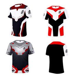 Short men underShirt online shopping - Avengers Endgame the Advanced Tech D Print Unisex T Shirt Men T shirt Casual Cosplay Costume Undershirt Women Tees Top XXS XL A4907